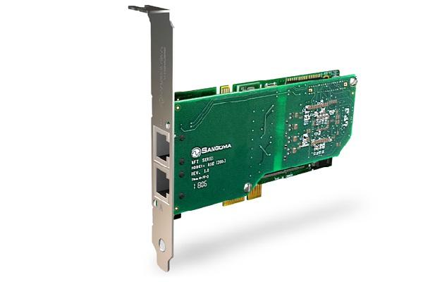 Imagen 3: Tarjeta Sangoma A102E (2E1 PCI Express)