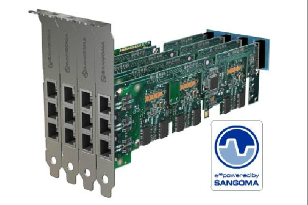 Imagen 3: Tarjeta Sangoma A500 Base+rémora (6 puertos BRI)