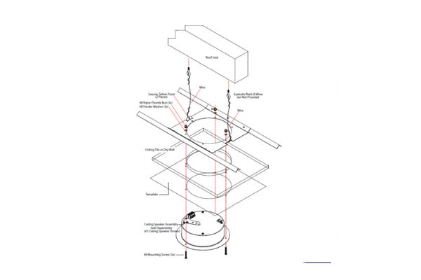 Imagen 3: Cyberdata Ceiling Mount 010991 - bracket montaje en techo