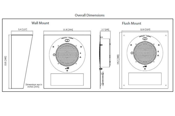 Imagen 3: Cyberdata clock kit pared (signal white)