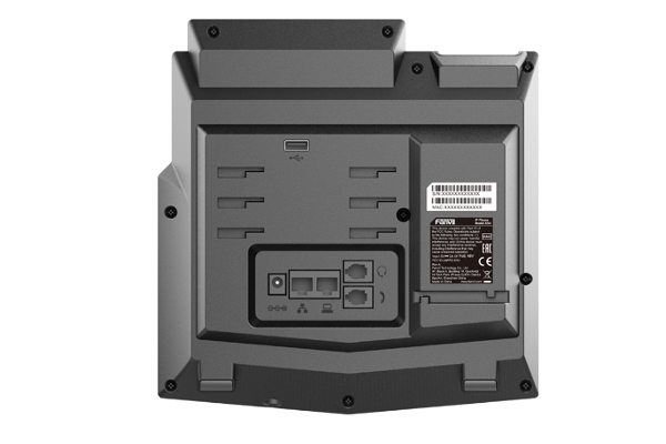Imagen 3: Fanvil terminal IP X5U PoE (sin fuente)