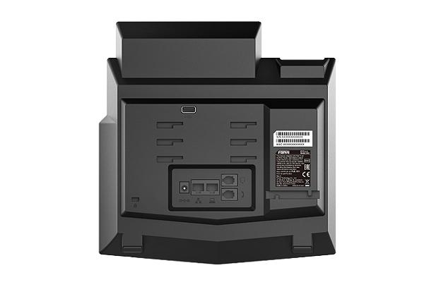 Imagen 3: Fanvil terminal IP X6U PoE (sin fuente)