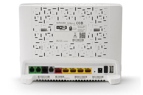 Imagen 3: Gateway Technicolor triple-play TG789vn V3