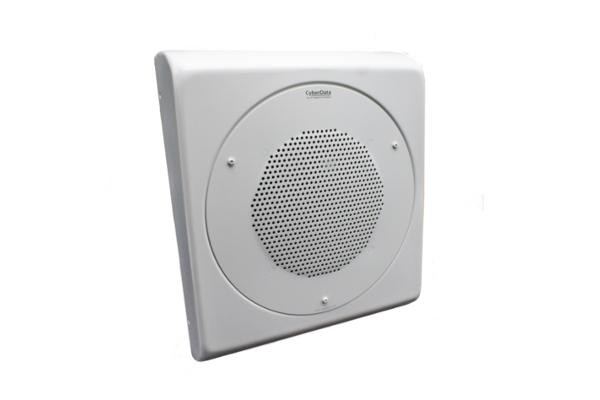 Imagen 3: Wall-mount adapter for Cyberdata speaker (signal white)- 011152