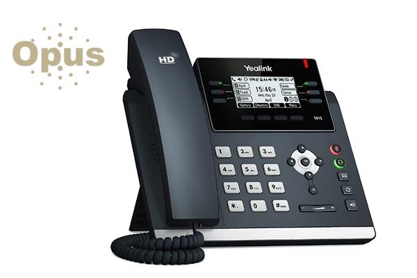 Teléfono IP Yealink T42S con pantalla LCD retroiluminada y montable en pared ya disponible en Avanzada 7