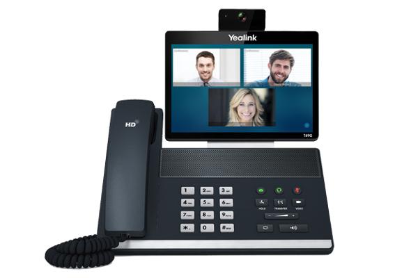Videoteléfono T49G de Yealink con teclas programables