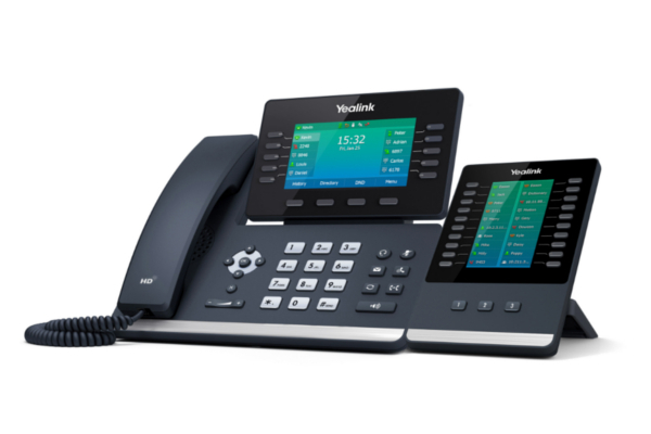 Teléfono IP de sobremesa Yealink T54W con WiFi y Bluetooth 4.2 incorporado ya disponible en la tienda online de Avanzada 7