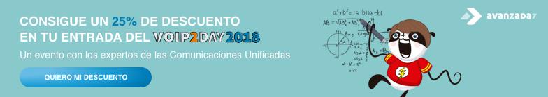Entradas VoIP2DAY 2018
