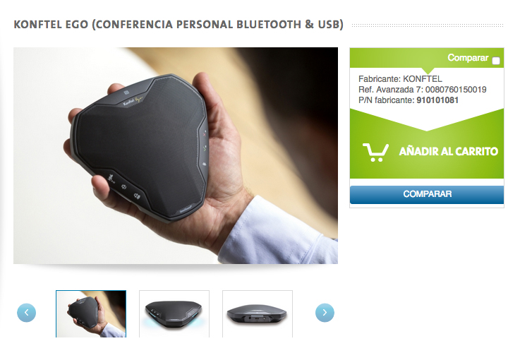 Konftel EGO - Tienda online
