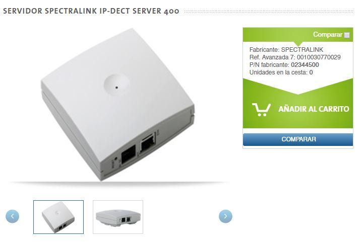 Spectralink Server IP 400