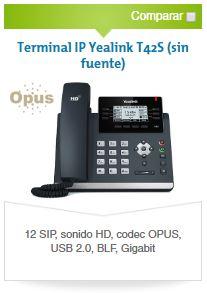Yealink T42S - Avanzada 7