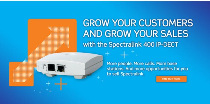Imagen: Atualizações do servidor Spectralink 400 IP-DECT | Novo firmware