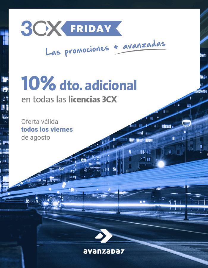 Promoción 3CXFriday - Avanzada 7