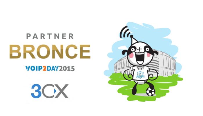 Imagen: 3CX se une al equipo VoIP2DAY como patrocinador BRONCE