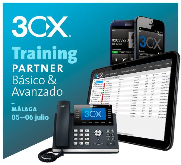 Imagen: 3CX Training Partner - 05 y 06 JULIO | MÁLAGA