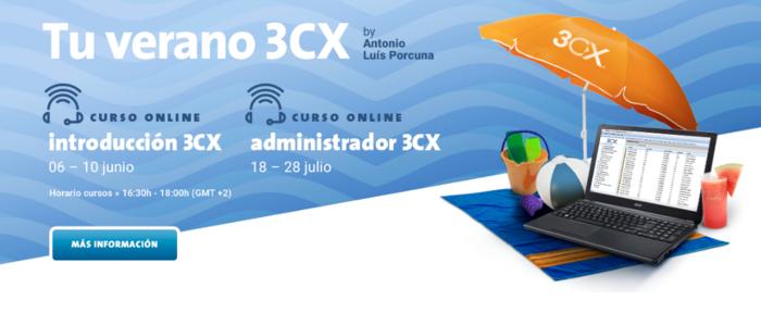 Imagen: Cursos 3CX - Introducción y Administrador - Verano 2016