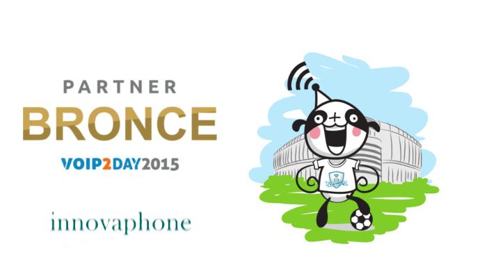 Imagen: Innovaphone estará en VoIP2DAY como patrocinador BRONCE