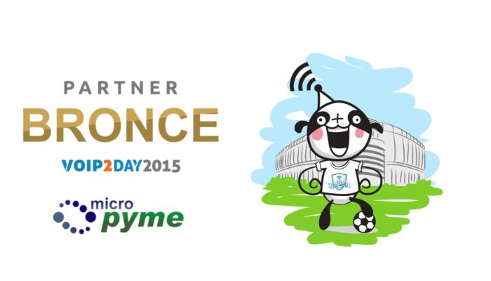Imagen: Micropyme se une al equipo VoIP2DAY 2015 como patrocinador BRONCE
