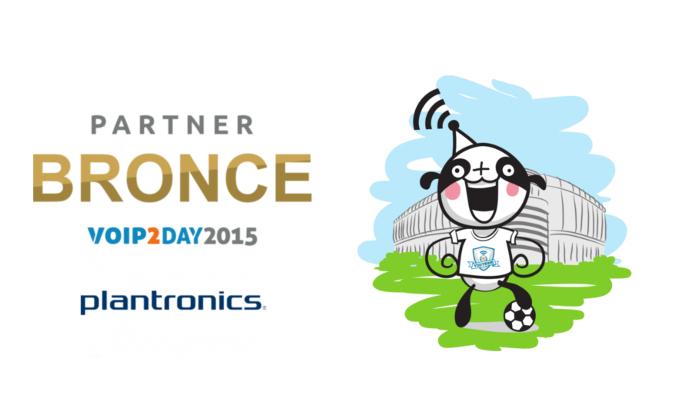 Imagen: Plantronics se une al equipo de VoIP2DAY 2015 como patrocinador BRONCE
