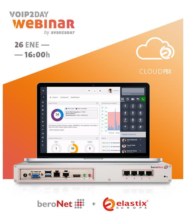 Imagen: VoIP2DAY WEBINAR | Novedades 2016: beroNet + Elastix