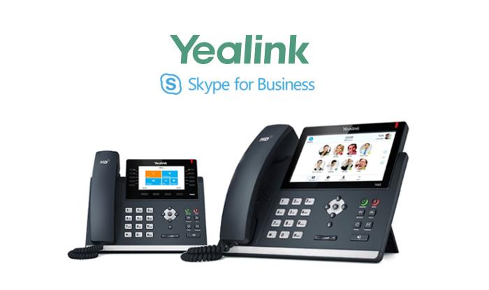 Imagen: Yealink T46G y T48G, oficialmente cualificados para Skype for Business Online Service